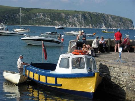 fishing boat hire swanage quot precious quot at the stone quay picture of marsh s boats
