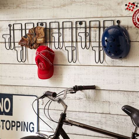 wire hat rack contemporary wall hooks by pbteen