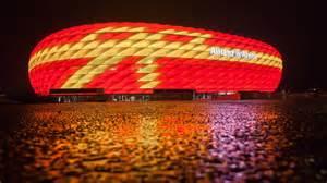 allianz arena beleuchtung weihnachtliche illumination allianz arena