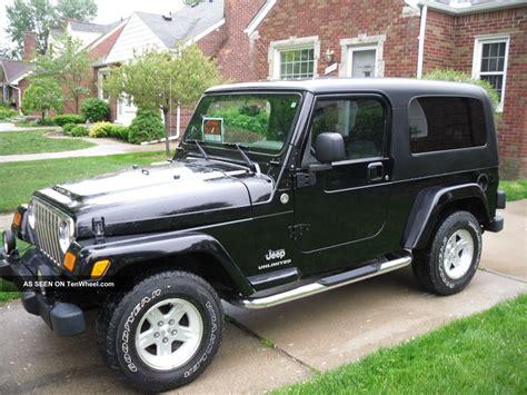 what year did jeep make 4 door wrangler 2005 jeep wrangler unlimited sport utility 2 door 4 0l