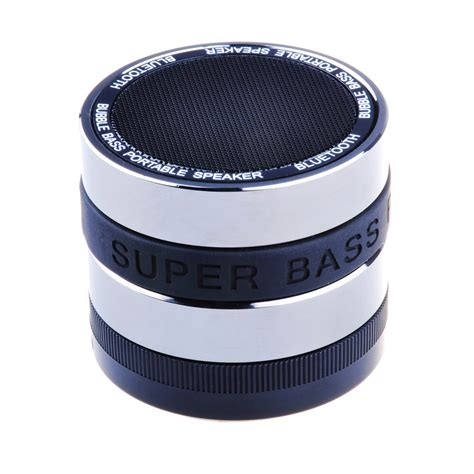 Speaker S4 Mini high quality mini portable wireless bluetooth bass speaker with mic for iphone 5s 5 4s