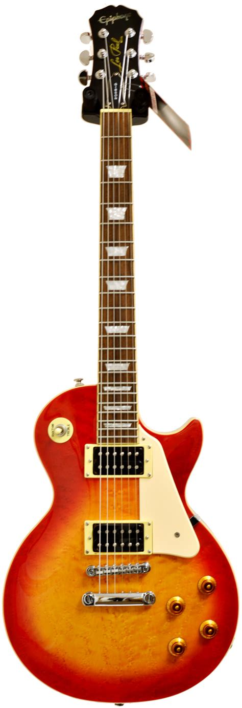 best pre for electric guitar epiphone les paul standard heritage cherry birdseye maple