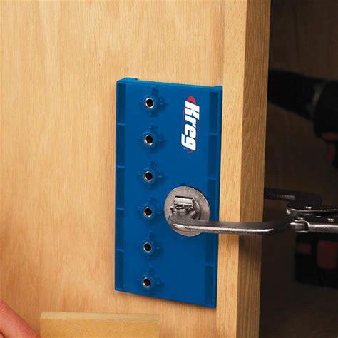 Shelf Pin Jigs by Kreg Shelf Pin Jig With 1 4 Quot 6mm Drill Bit