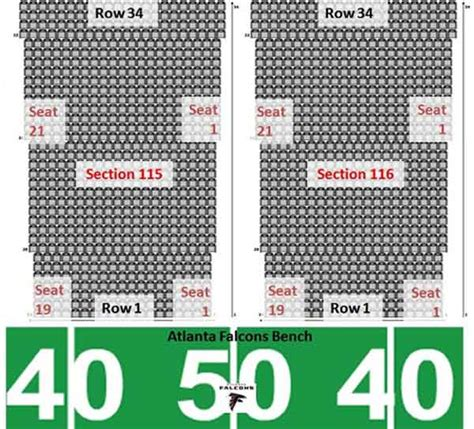 michigan stadium aisle seat numbers dome seating chart row seat numbers