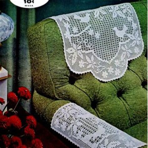Crochet Arm Chair Covers Free Patterns by Arm Cover Crochet Pattern Crochet Patterns Only