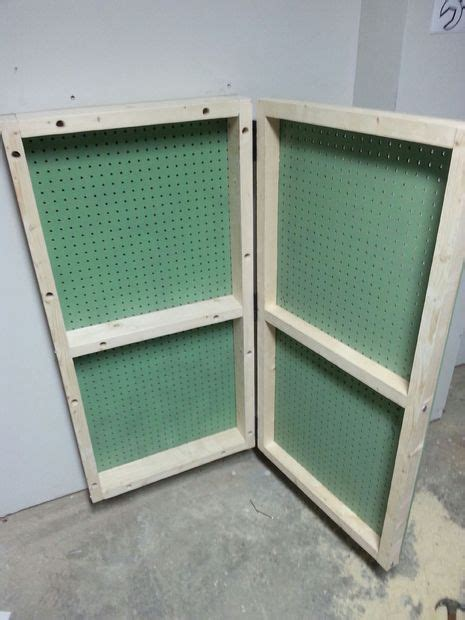 Garage Cabinets With Pegboard 119 Best Images About Organization Garage On