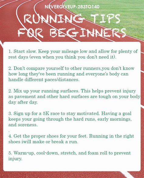 running tips motivation 174 best running tips tricks images on exercises healthy living and running
