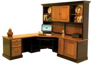 custom wood office desks 187 woodworktips - Custom Office Furniture