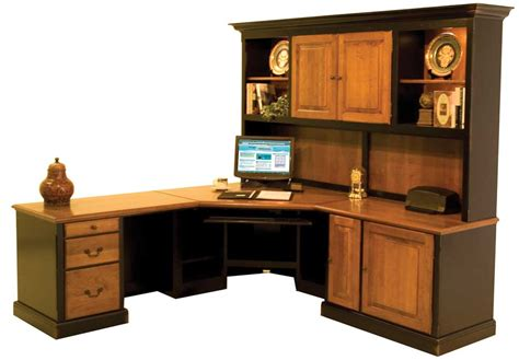 Handmade Office Furniture - custom wood office desks 187 woodworktips