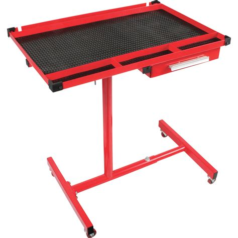arcan adjustable work table with drawer model ar8019