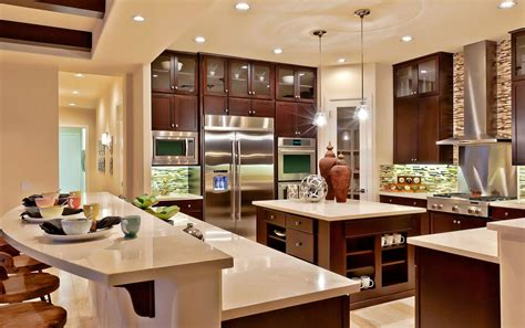 Nice Home Interiors by Toll Brothers Model Home Interior Design With Nice Kitchen