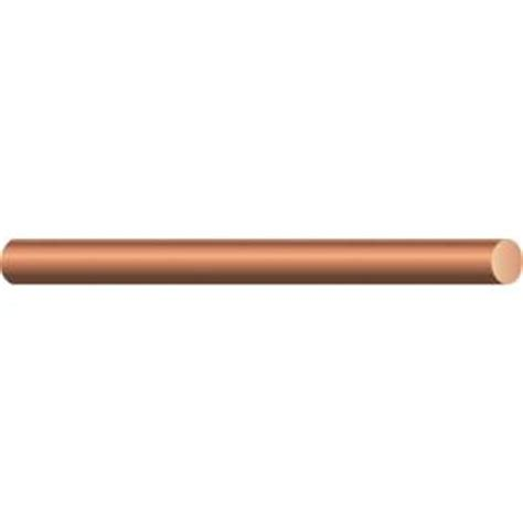 southwire by the foot 6 solid bare copper wire 10638590
