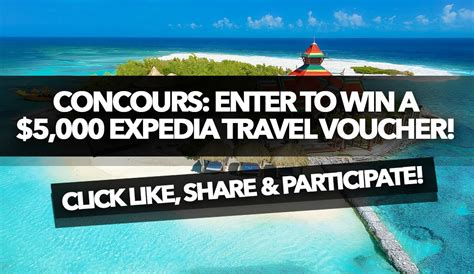 Enter To Win Daily Sweepstakes And Contests - contest enter to win a 5 000 expedia travel voucher