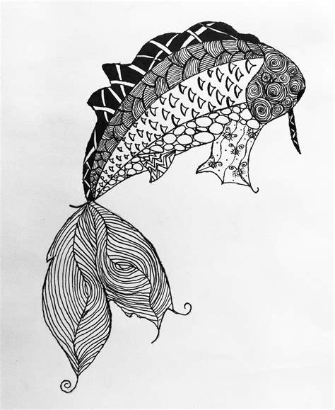 Zentangle Design by Animal Zentangles Teen Art