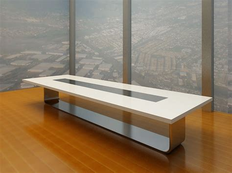 modern white meeting table luxury conference table