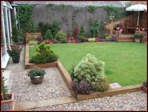 Garden Ideas With Sleepers by Small Garden Design Using Sleepers Pdf