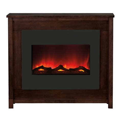 Amantii Electric Fireplace by Amantii Electric Fireplace With Espresso Mantle Zecl 30 3226 Mant Espresso