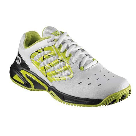 wilson tour vision ii junior tennis shoes sweatband