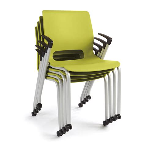 Nesting Chairs by Hon Motivate 4 Leg Stacking Chair Atwork Office