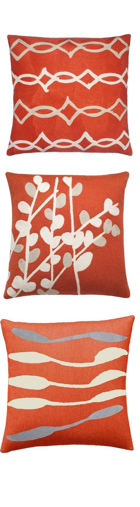 9 Best Images About Orange Pillows On Pinterest Sofa Orange Pillows For Sofa