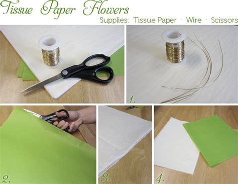 how to put tissue paper in wedding invitations how to tissue paper flowers american wedding wisdom