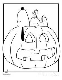it s the great pumpkin charlie brown coloring pages snoopy