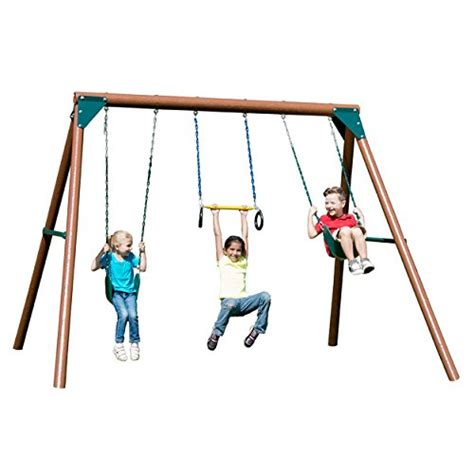 buy a swing set childrens wooden swing sets and plans