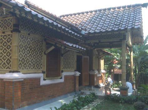 rumah bambu sederhana modern gambar rumah idaman