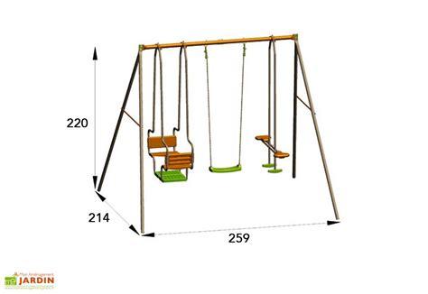 balancoire amca metal portique balan 231 oire m 233 tal 2 20m axion alt 233 a amca