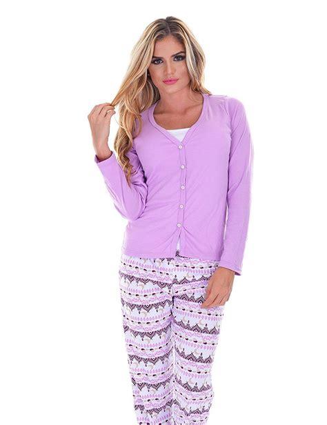 s cotton pant set s pjs cotton sleepwear 3 pajama set