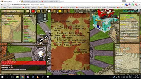 What Are The Best Death Notes You Have Seen Townofsalemgame Town Of Salem Will Template
