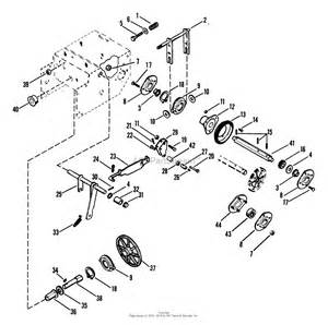 ariens 932022 000101 st724 7hp tec 24 quot blower parts diagram for friction drive