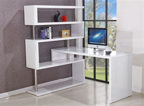 corner desk with bookcase somette modern corner desk with bookcase