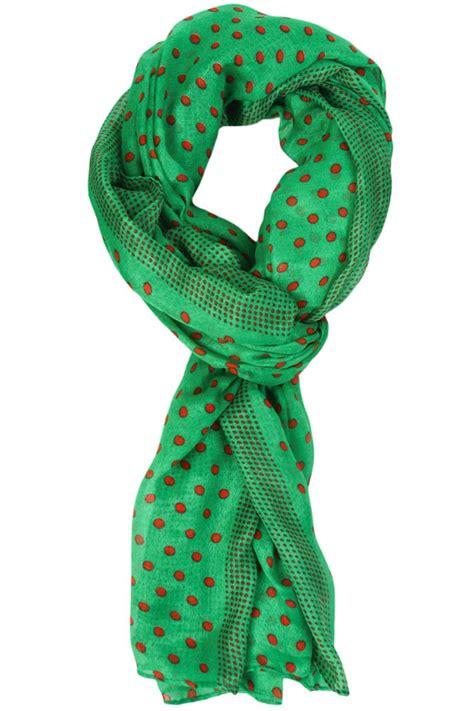 Pashmina Mini Line polka dot scarf scarves net