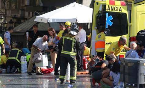 imagenes impactantes atentado paris attentat 224 barcelone des victimes d une trentaine de