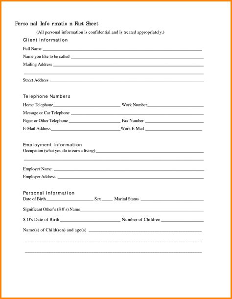 client information form template vertola