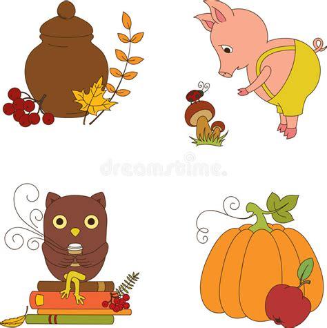 clipart autunno clipart di autunno illustrazione vettoriale