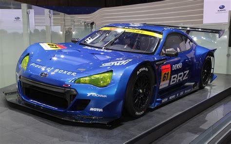 subaru brz racing subaru brz super gt race car 2011 tokyo motor show