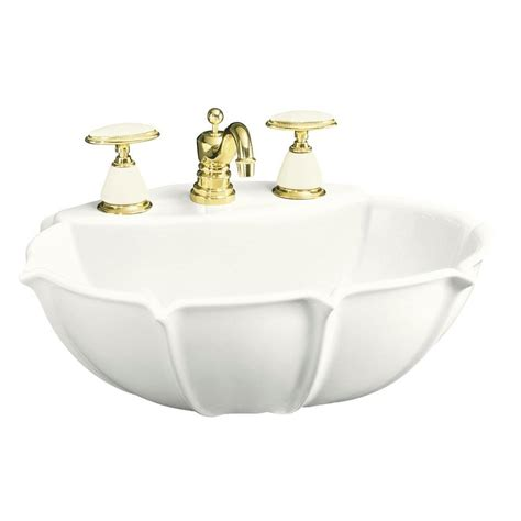 Kohler Anatole Pedestal Sink by Kohler Anatole 6 5 8 In Vitreous China Pedestal Sink