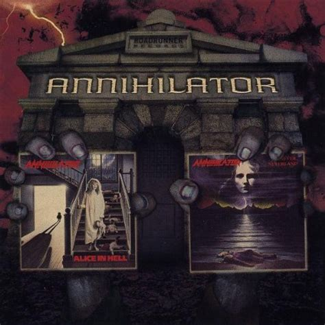 Cd Annihilator annihilator cd covers