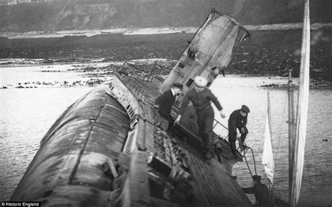 german u boats sunk in ww1 never seen photos of ww1 submarines daily mail online