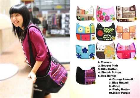 Tas Selempang Bag Wanita Dapat 3 0483 Murah Limited maika etnik 11 tas handmade wanita terbaru