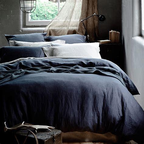 Washed Linen Duvet Cover King by Washed Linen Duvet Cover Grey Celadon