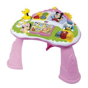 mickey mouse activity table clementoni activity table minnie mouse amazon co uk