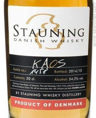 Kaos Whiskey 1 stauning kaos single malt whisky denmark prices