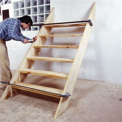comment fabriquer un escalier d ext 233 rieur en bois comment