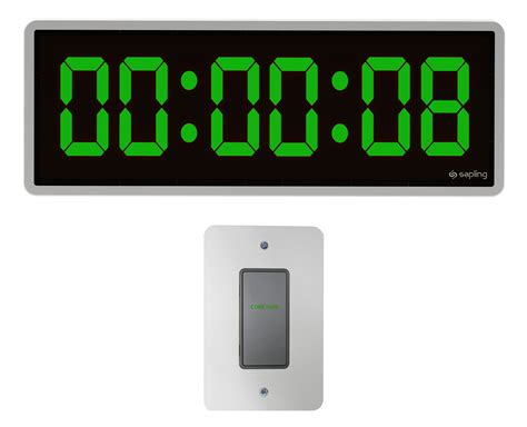 Wall Clock Digital digital clocks digital synchronized clock systems by