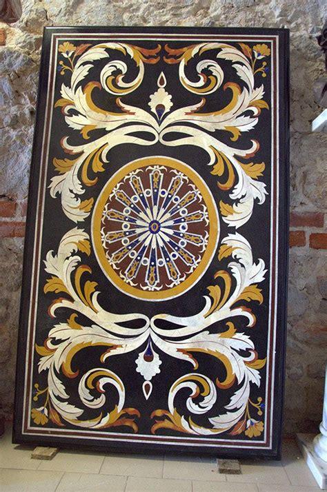 tavoli intarsiati 17 best images about tavoli in marmo intarsiati on
