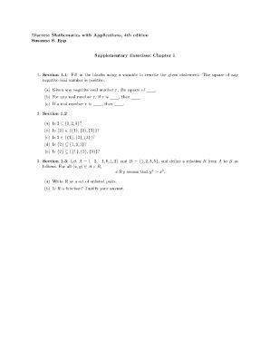 Pdf Discrete Mathematics Applications Susanna Epp by Solution Of Discreet Mathematics By Susanna 4th Edition
