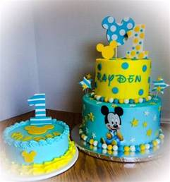 first birthday baby mickey cakecentral com